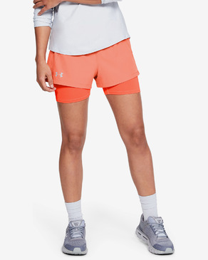 Under Armour Qualifier Speedpocket 2-in-1 Rövidnadrág